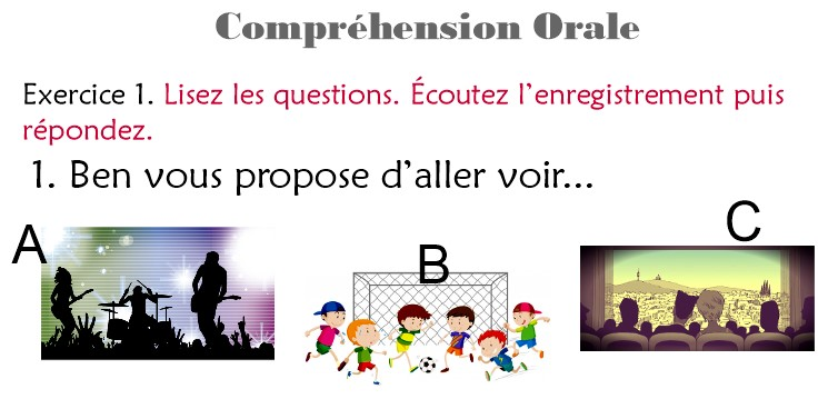 Delf A1 Comprehension Orale Exercices Audio Coucoulafrance